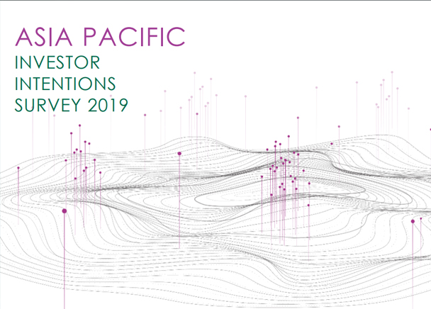 Asia Pacific Investor Intentions Survey 2019
